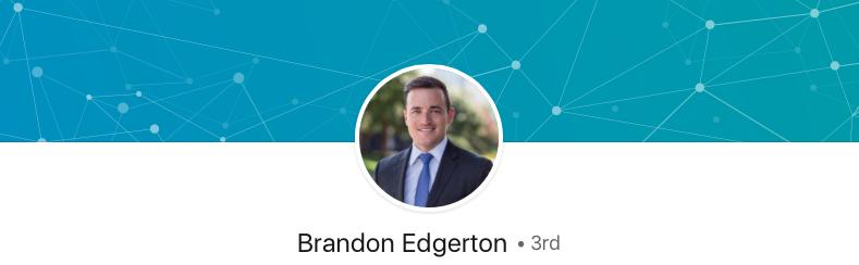 Brandon Edgerton without employer