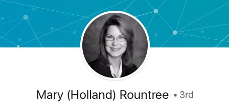 Mary Rountree LinkedIN